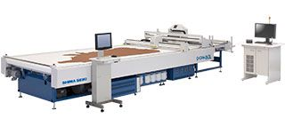 Single-Ply Leather Cutting Machine P-CAM160L/270L