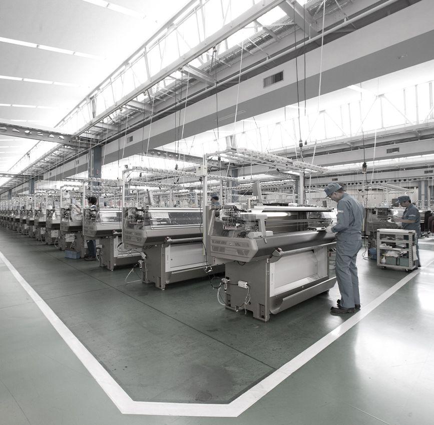 Knitting Machines | Products | SHIMA SEIKI | Computerized
