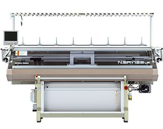 Computerized Flat Knitting Machines N.SRY123LP/183LP