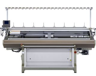 Computerized Flat Knitting Machines SCG122SN